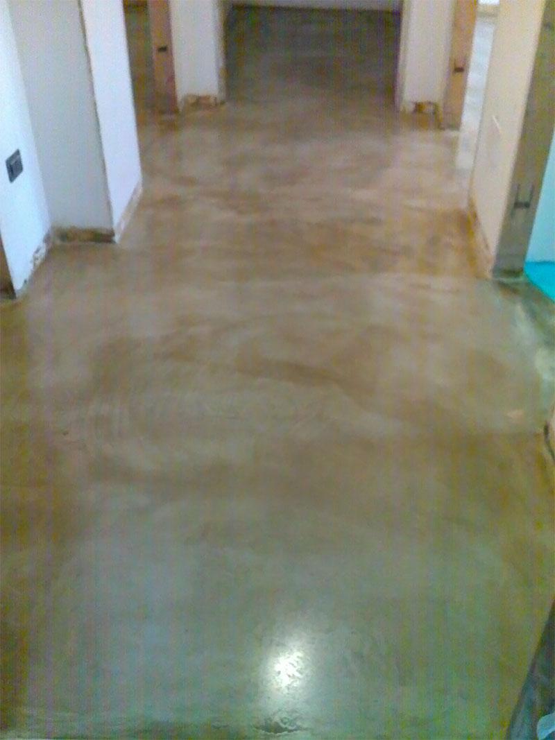 Pavimento in micro cemento