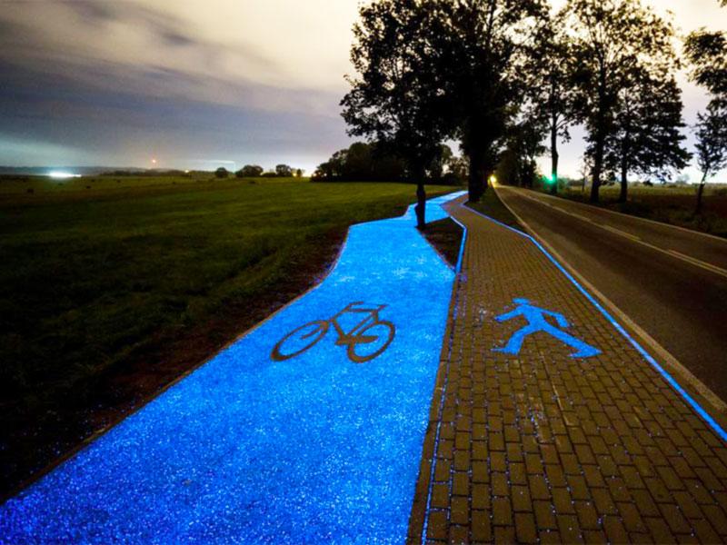 GlowStone - Pista ciclabile